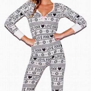 Victoria Secret Thermal Long Jane Pajama